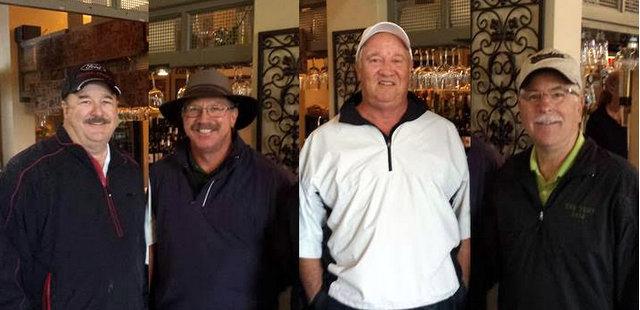 Greenhorn Creek Men's Club NCGA 2016 Four-Ball Net Tournament Results