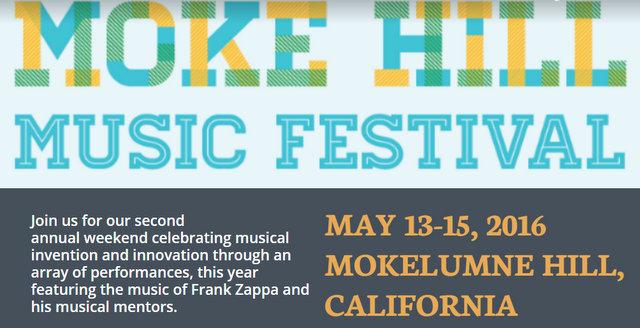 Moke Hill Music Festival MAY 13-15, 2016