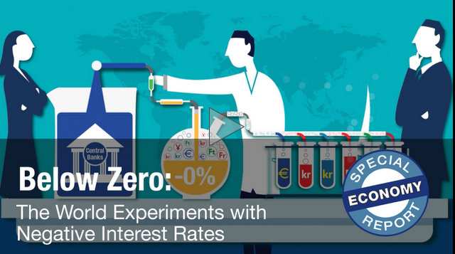 Below Zero: The World Experiments with Negative Interest Rates ~ From Brian J. Tewksbury