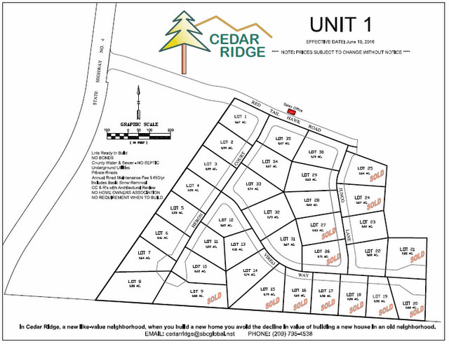 Is The Time Finally Right To Build Your Dream Home? Cedar Ridge Has Your Lots Ready! Video Interview With Jon Ellis (Updated Plot Map…Get Your Lot Before They Are Gone!)