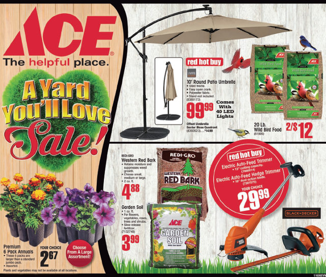 "The Big Arnold Ace ""A Yard You Will Love"" Sale!"