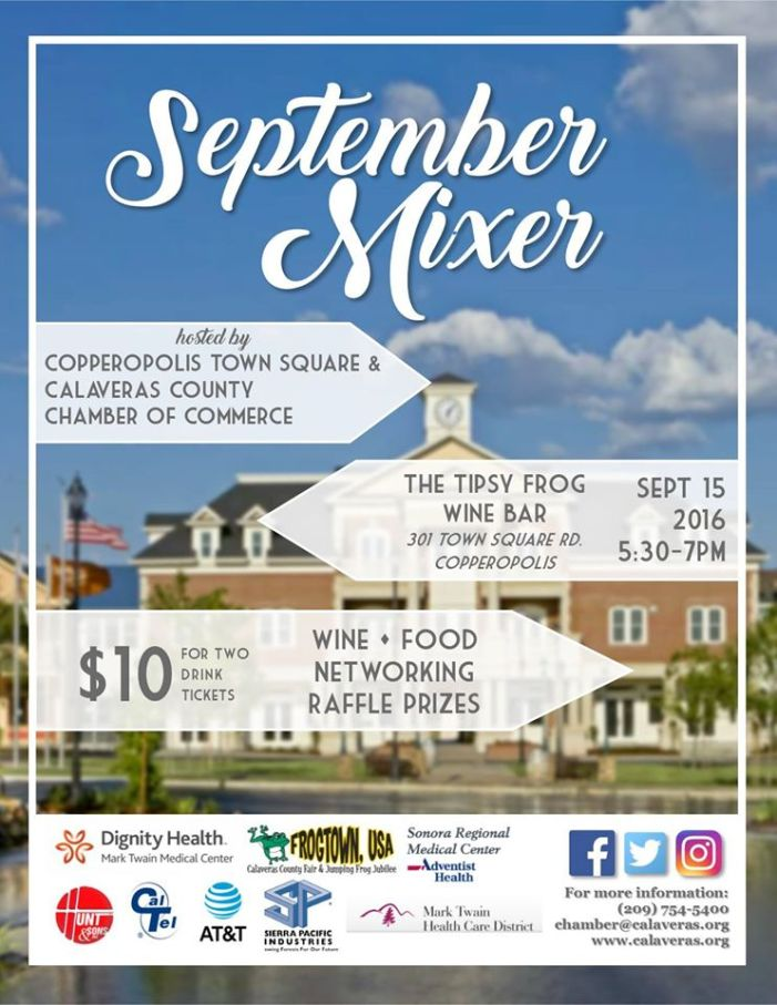 Mingle Till You Tingle At The September Chamber Mixer At The Tipsy Frog