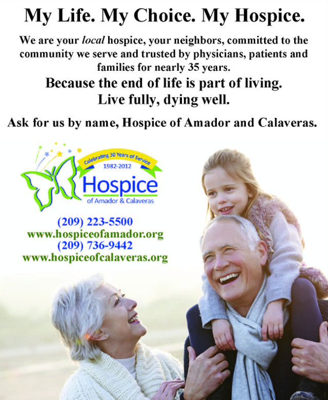 My Life, My Choice, My Hospice Is Hospice Of Amador & Calaveras