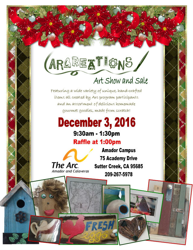 The Arc Of Amador And Calaveras Holiday Fundraising Event
