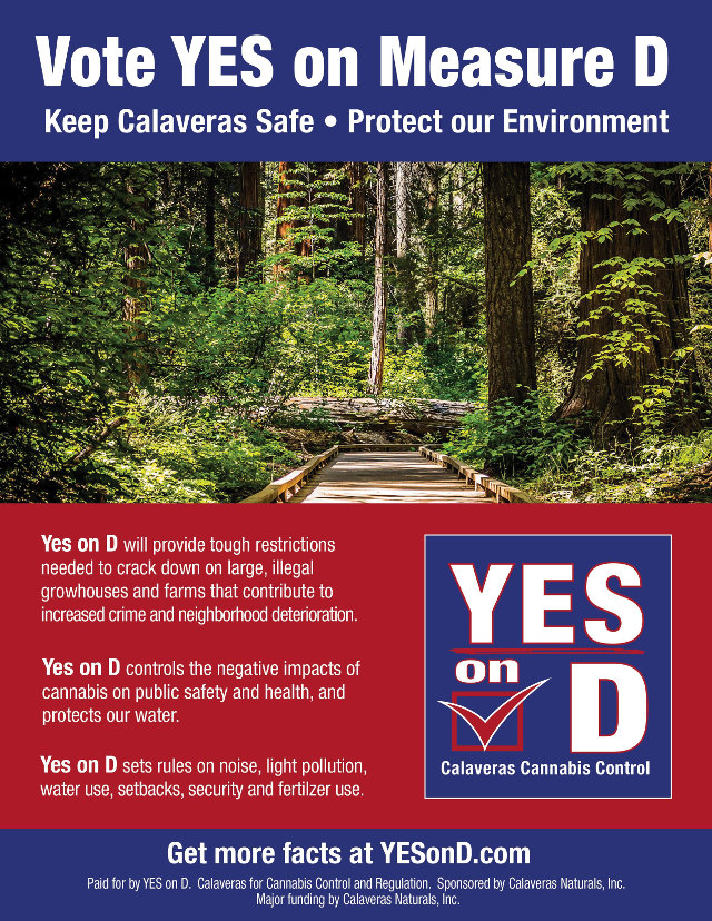 Vote Yes On Measure D