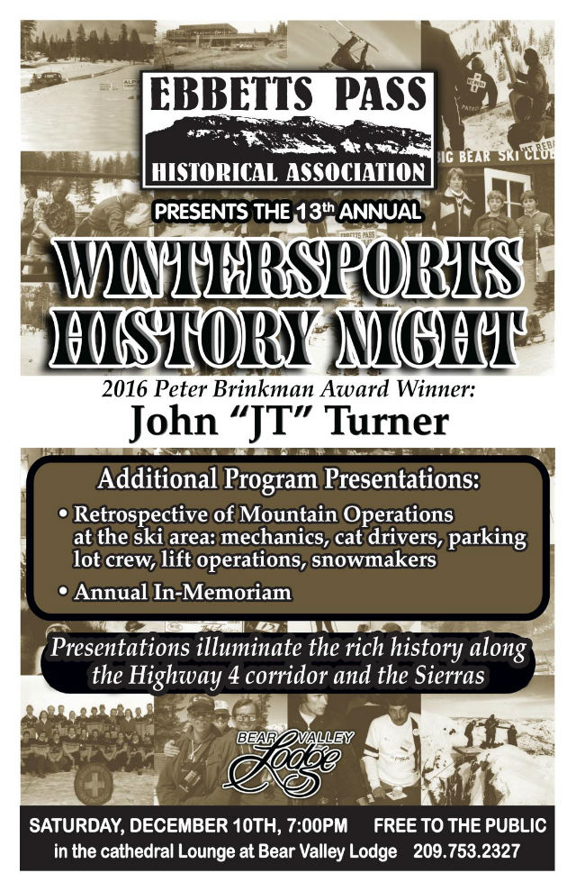Don't Miss The 13th Annual Wintersports History Night