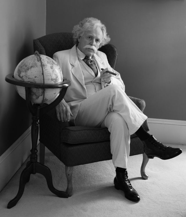 Mark Twain Returns To Mother Lode For Only Four Performances