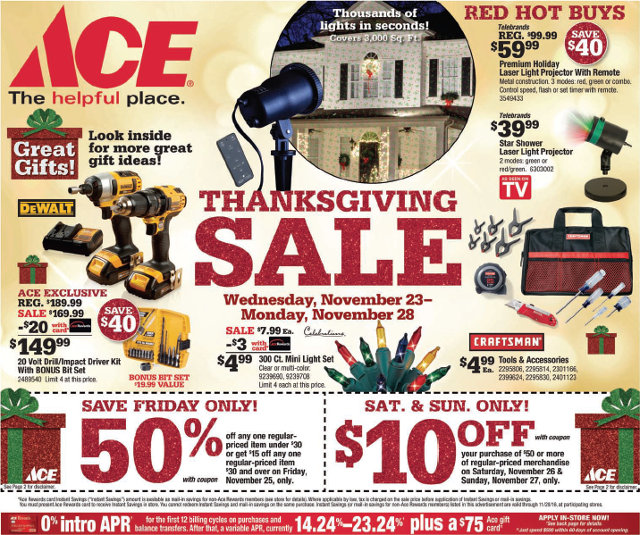 Start The Christmas Season Off Right At Arnold Ace Home Center