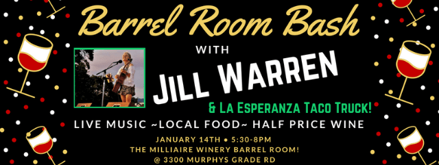 Join Milliaire For Our Barrel Room Bash Series!