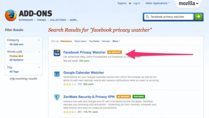 How to Manage Facebook Privacy Settings Efficiently Using Firefox Add-on (5)