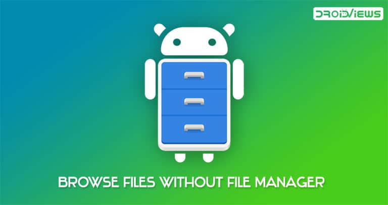 browse files on android