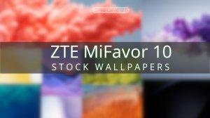 zte mifavor 10 wallpapers