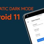 Android 11 brings automatic dark mode planning