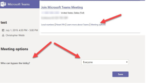 How to change the role of a participant in Microsoft Teams Meeting