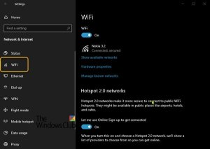 Wi-Fi Settings are missing on Windows 10 or Surface device
