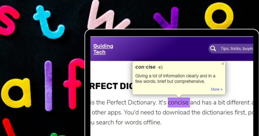 7 Best Dictionary Extensions for Chrome