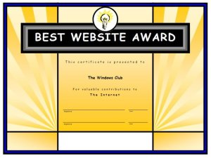 How to create a Certificate using Microsoft Publisher