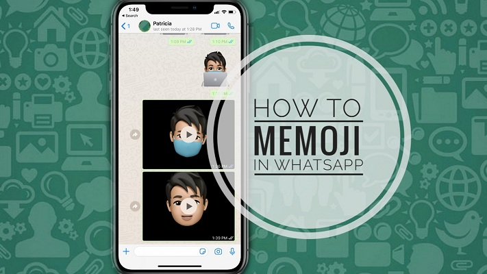 How To Send Memoji Clips & Stickers In Whatsapp From