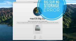 Fix Macos Big Sur Not Enough Free Space To Upgrade
