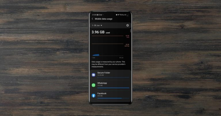 How to Set Up Data Limit on Samsung Galaxy Phones