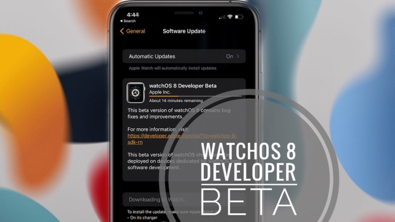 how to install watchos 8 developer beta on apple watch