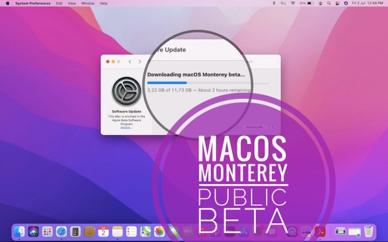 How to update to the public beta of macOS Monterey