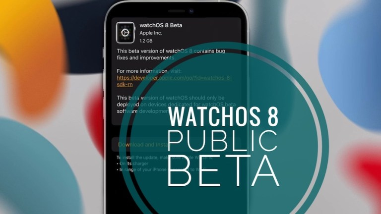 How to install watchOS 8 public beta on Apple Watch