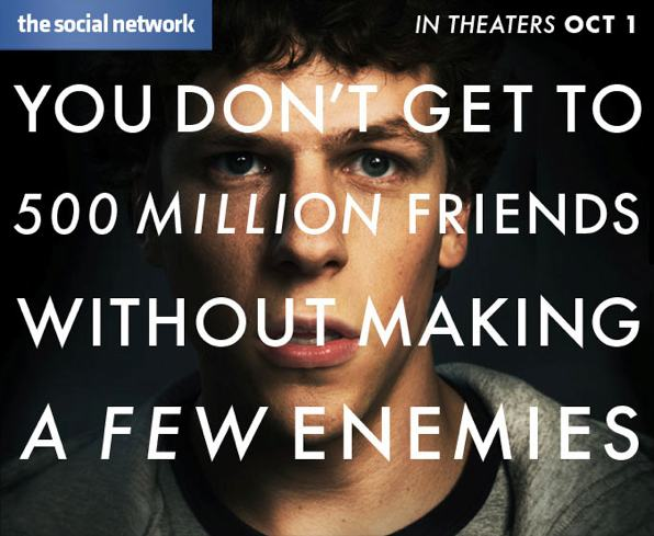 the social network movie in theaters oct 1