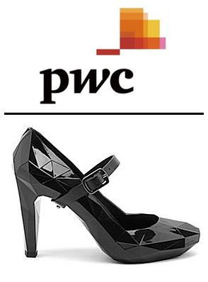 pwc logo and lores shoe