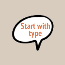 start with type