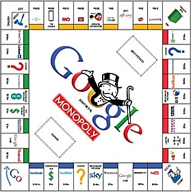 James Belkevitz's Google board game