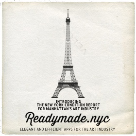 Readymades.nyc broshure
