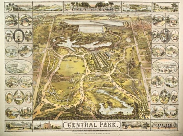 Central Park map