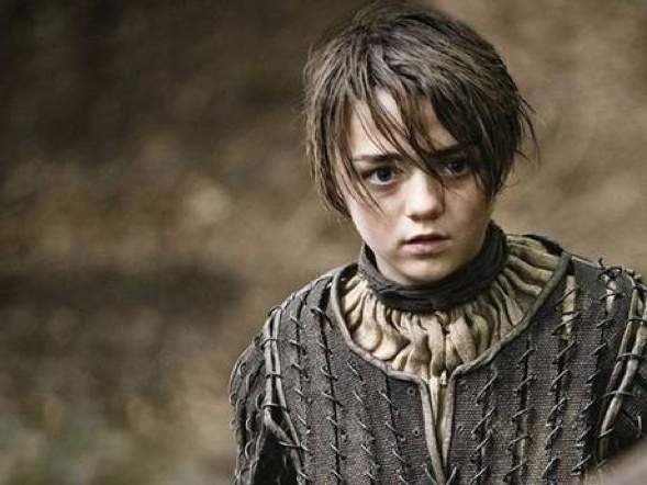 Williams as Arya in the first season of Game of Thrones