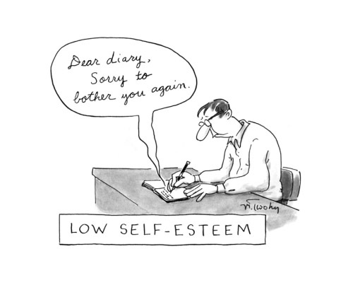 Low Self-Esteem via The New Yorker