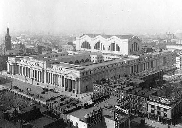 Today in 1910, Penn Station  opened