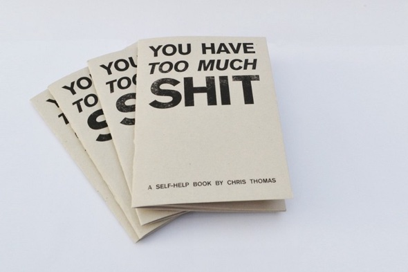 Self help book by Chris Thomas