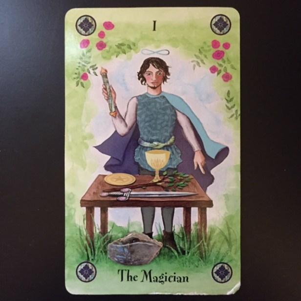 The Magician card