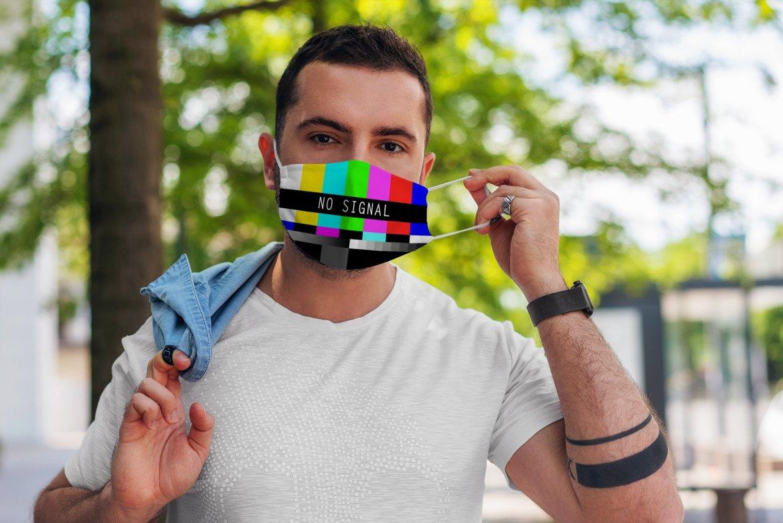 No signal face mask