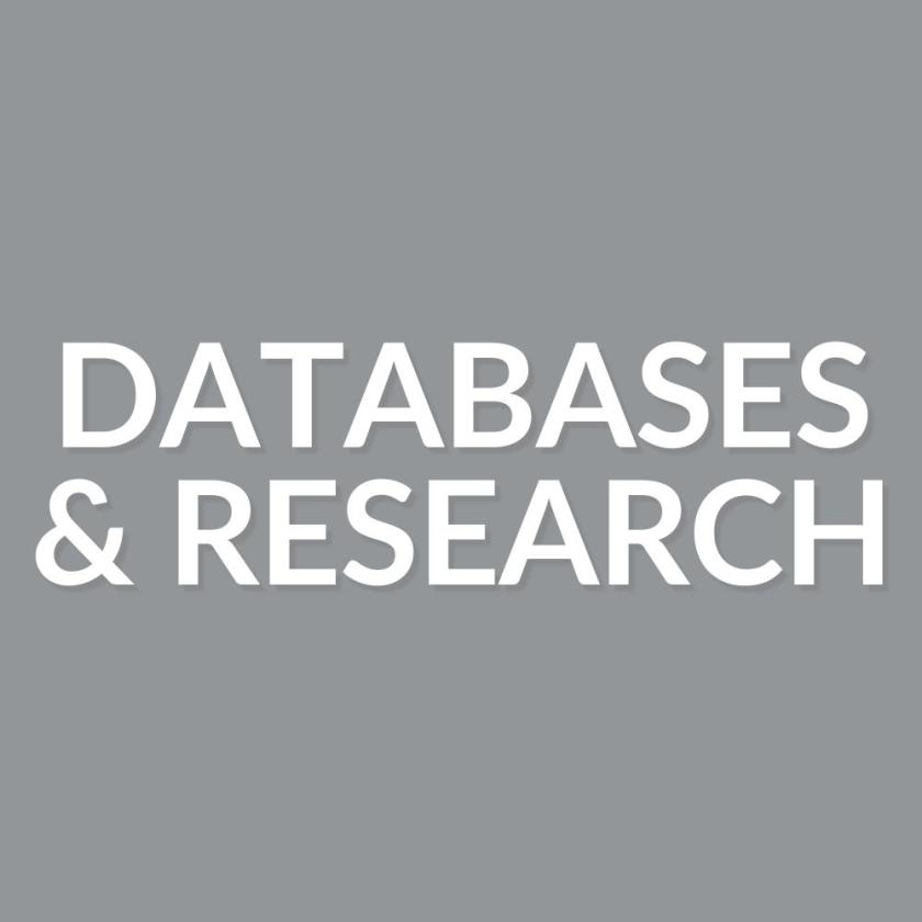 Databases and research