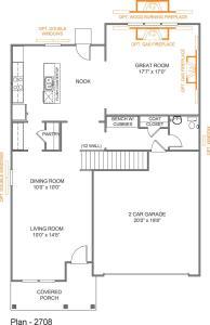 Parker Floor-Plan First Floor