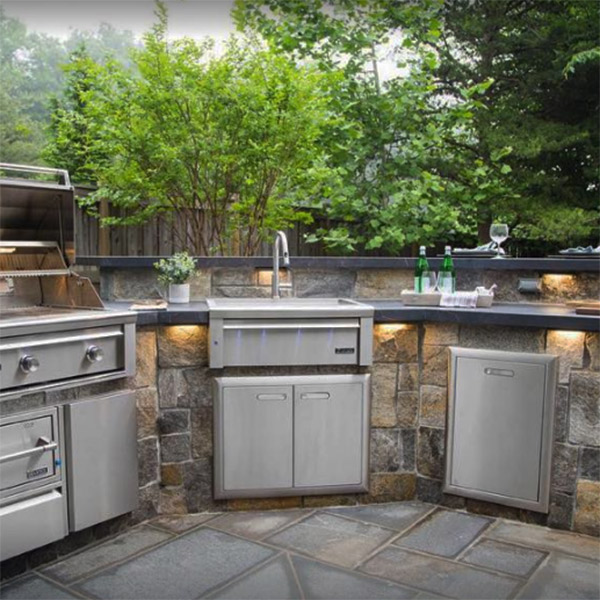 affordable outdoor kitchens