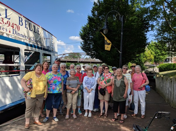 Newark FUMC 2018 Colonial Belle outing photo by Nancy Schrader