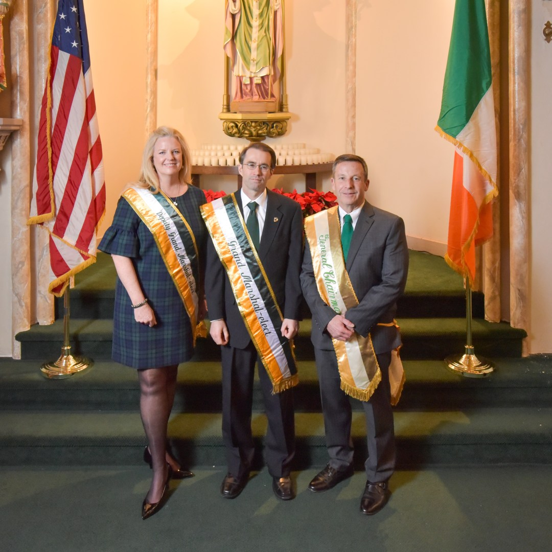 2020 Deputy Grand Marshal, Grand Marshal, and General Chairman