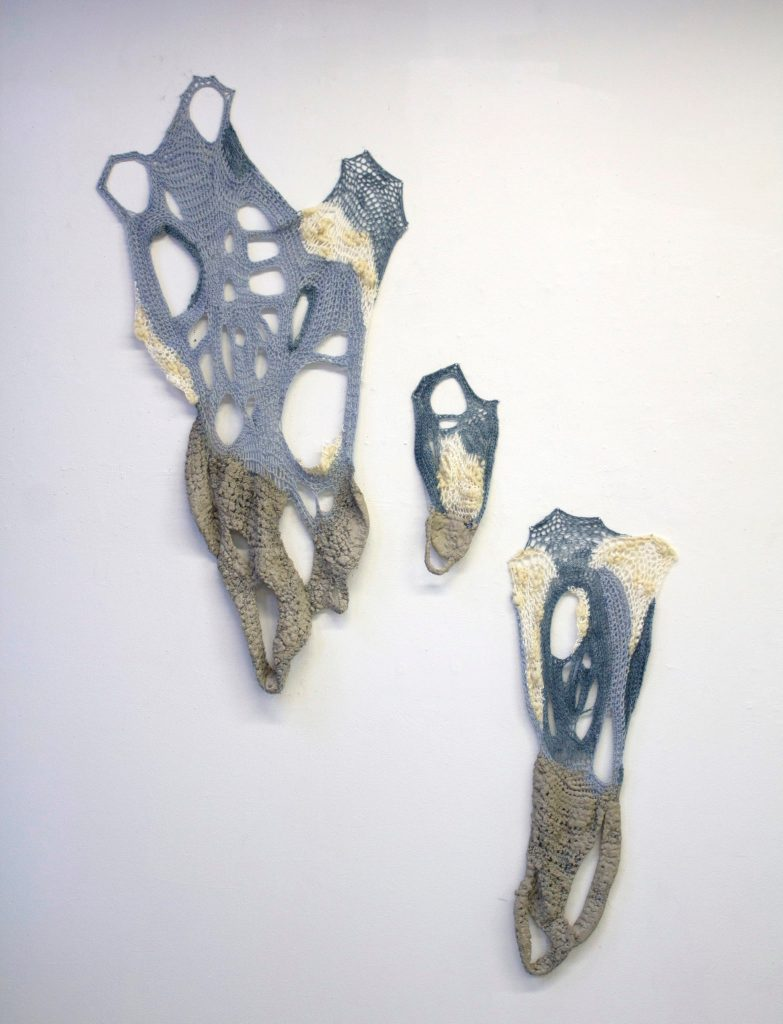 Lauren Comerato Preserved Yarn and cement