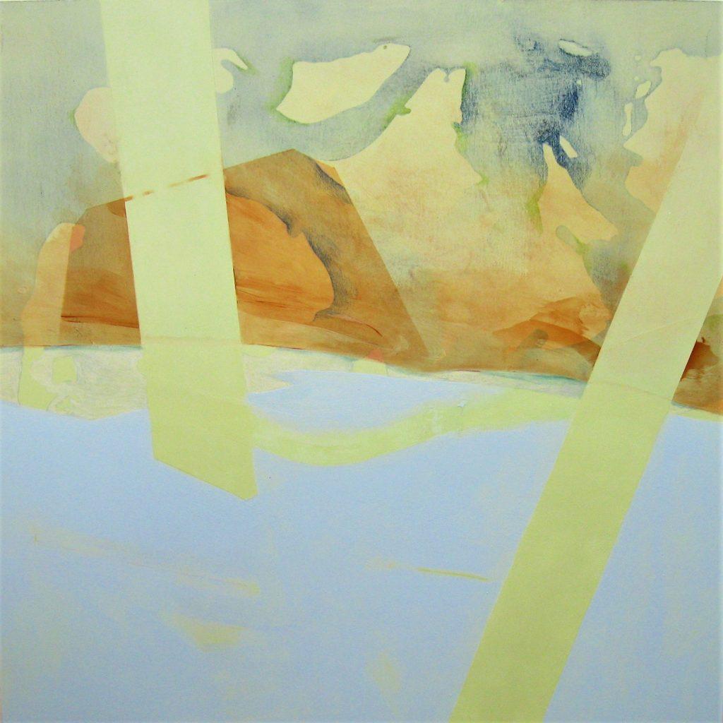 Lydia Kinney's Birch Arylic on panel
