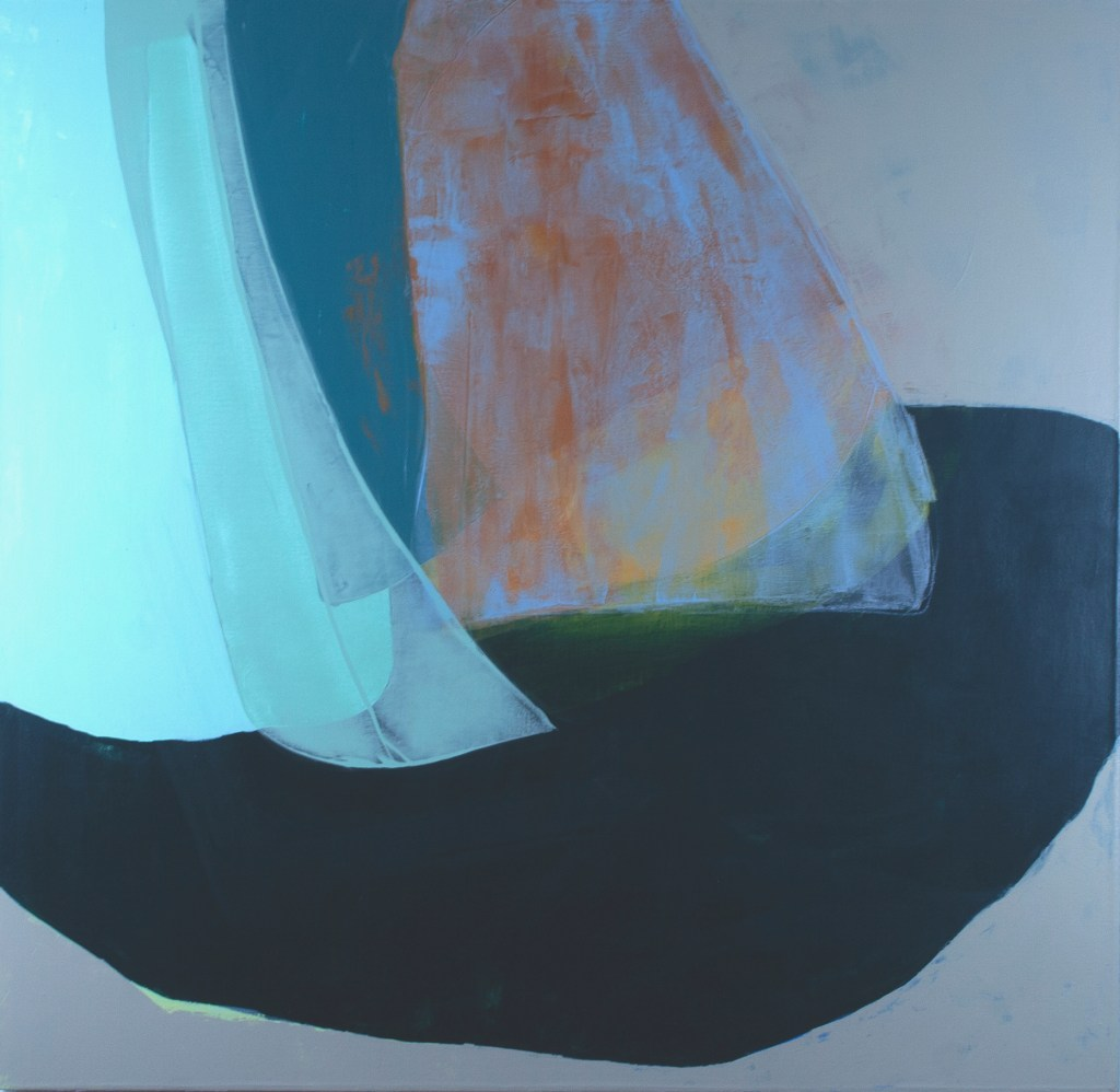 Lynette Haggard's Drifting On By Acrylic on canvas