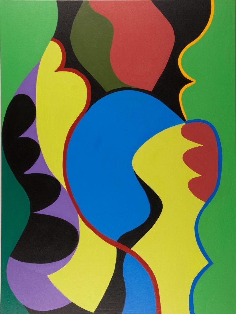Diane Novetsky's Memorial Day Acrylic on canvas