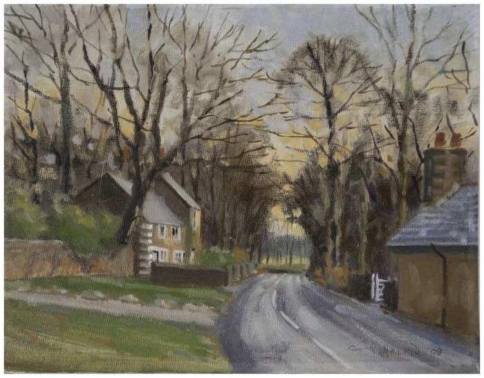 'Autumn Evening, Rivington Village' by Gerry Halpin