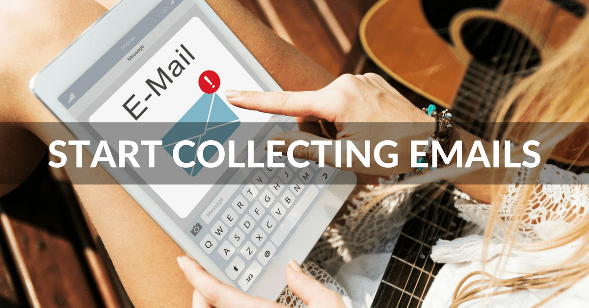 Easy steps to get started with email promotion for musicians